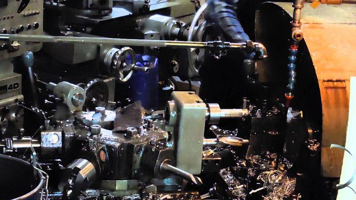 Fred rocks prewar manual lathe for cylinder head turning work