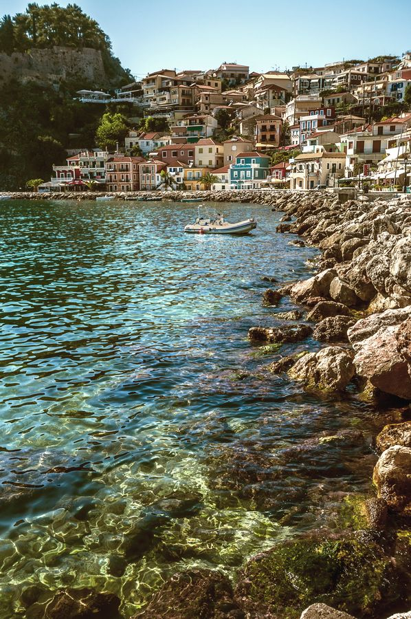 Parga Old Town, Greece