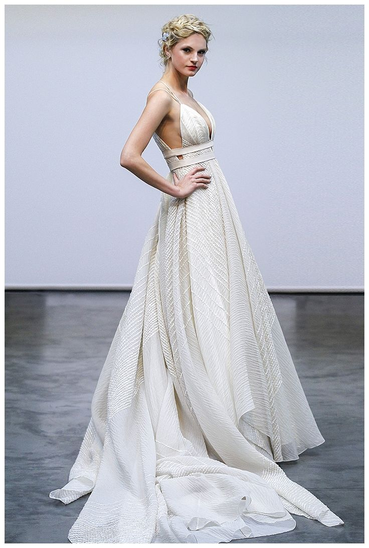 Wedding dress from the Carol Hannah 2016: Siren Call Collection. Image by Dan Lecca.