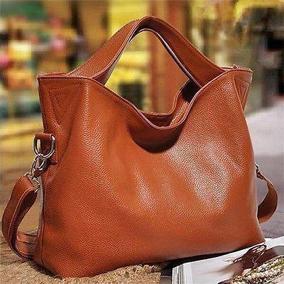Artsivaris Genuine Leather Shoulder Bag Women Travel Messenger Handbag Purse | eBay
