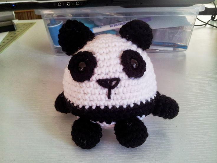 Cómo hacer un panda de crochet: Pandas Amigurumi, Pandas Tutorials Patterns, Crochet Pandas, Amigurumi Pattern, Crochet Crafts, Creative Crochet, Kristen Crochet, Pandas Tutorialpattern, Amigurumi Patterns