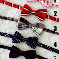 """Ensure your little gentleman looks better than ever. *New designed with double bows, stylish and colorful high quality satin ties. *Adjustable length up to 20"""" inches long. * Best suited for babies, toddlers and up to age 6. * All products made from smoke free and pet free environment. *Get ..."""