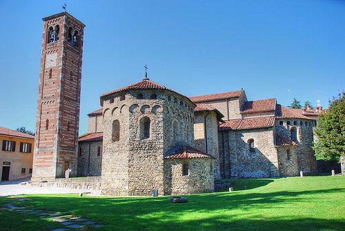 Basilica di Agliate, Agliate, Lombardia, #romanico