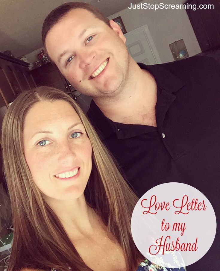 letter to my husband about our relationship