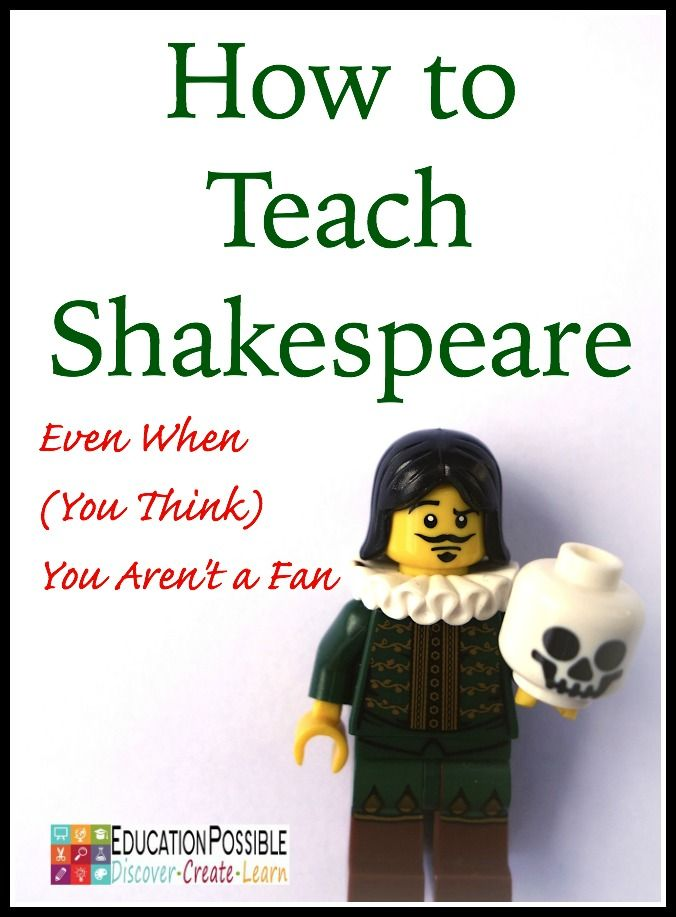 How to Teach Shakespeare - Education Possible
