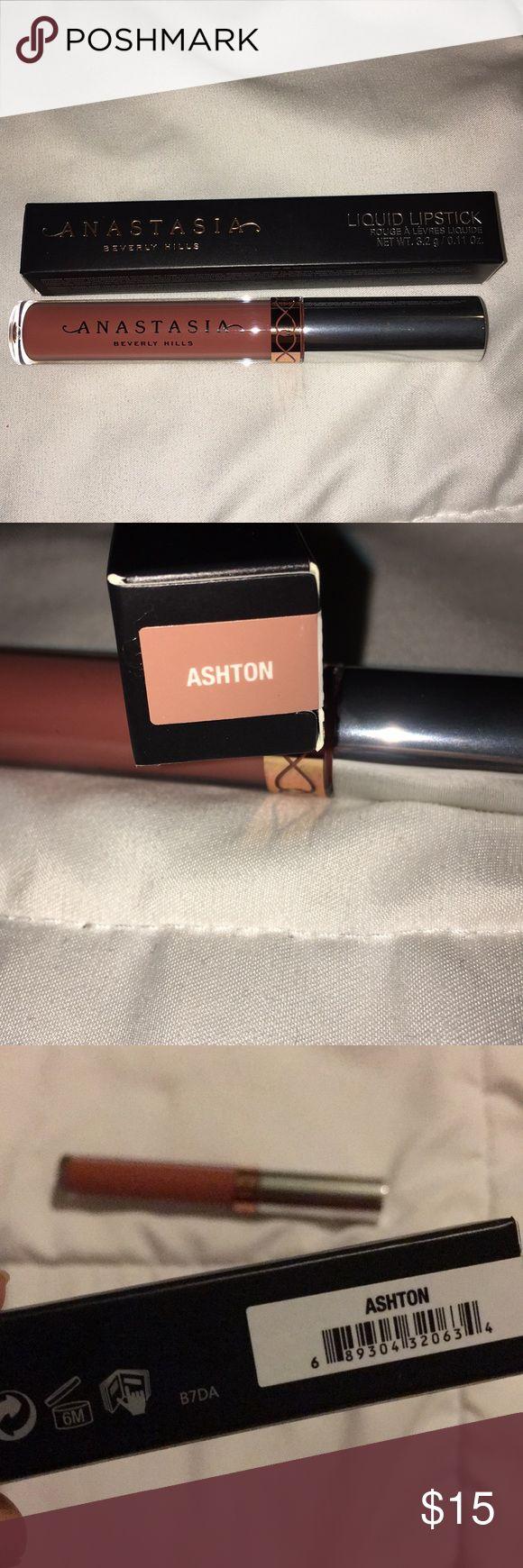 "NIB ""Ashton"" liquid lipstick Anastasia Beverly Hills ""ashton"" liquid lipstick. Never been used or swatched. Anastasia Beverly Hills Makeup Lipstick"