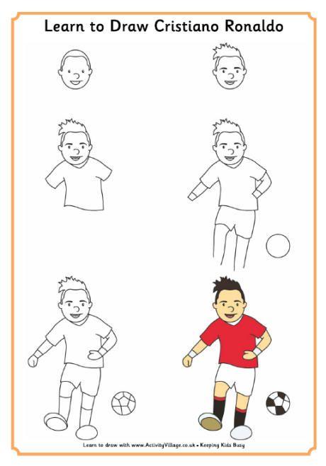 Learn to Draw Ronaldo