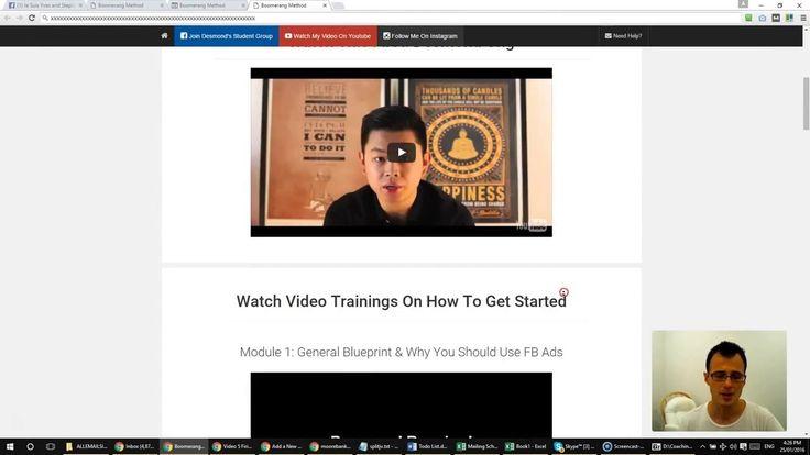 Boomerang Method Review - The Best Facebook Retargeting Tool