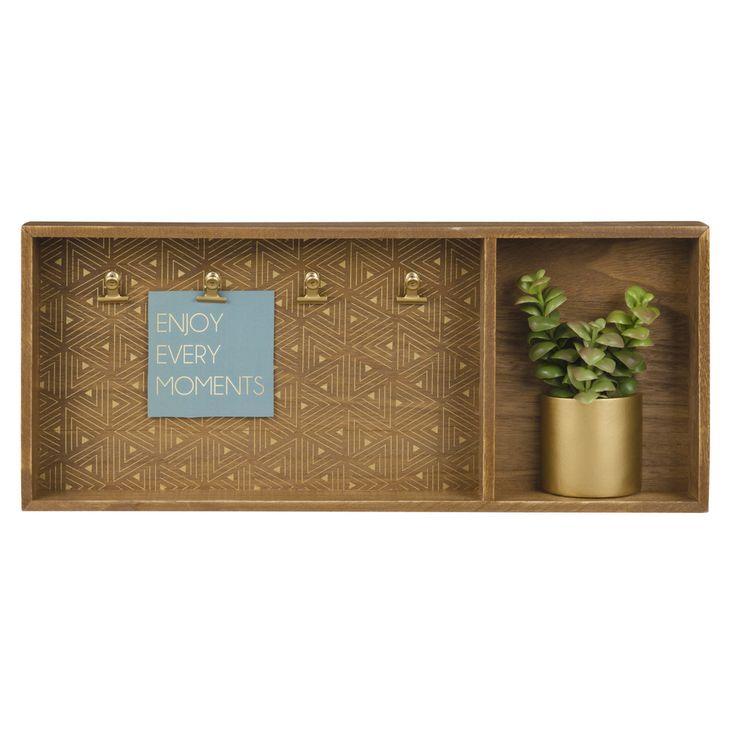 Mehrfach-Rahmen mit künstlicher Pflanze 48 x 20 | Maisons du Monde