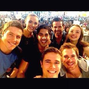 Brax, Sasha, Andy, Kyle, Nate, Zac and Evie