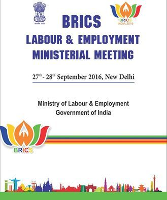 The BRICS Labour & Employment Ministerial Meeting (LEMM) will be held in New Delhi, India from 27-28 September, 2016.