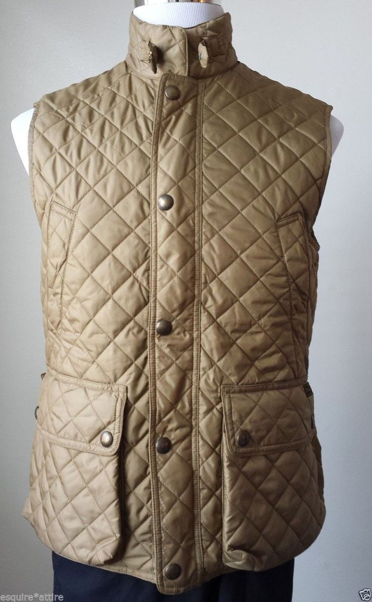 #ebay   sale POLO Ralph Lauren Diamond Quilted vest jacket Size S Gold Color NWT RalphLauren withing our EBAY store at  http://stores.ebay.com/esquirestore