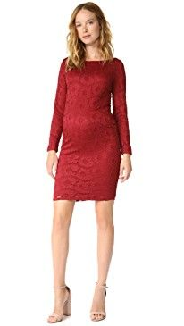 New Ingrid Isabel Boat Neck Lace Maternity Dress online. Find the  great Maison du Soir Clothing from top store. Sku wzjz36252msxa74202