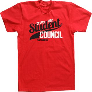 Custom T-shirt Tee Design High School Student Council Athletic Design