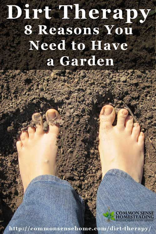 Homegrown fruits and vegetables aren't the only benefits of gardening! Check out the rewards that a little dirt therapy can bring to you and your family.