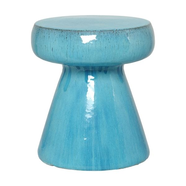 Outdoor Ceramic Mushroom Garden Stool (many Colors) The Outdoor Ceramic  Mushroom Garden Stool Is Hand Made Of Ceramic Pottery With A Hand Applied  Finish.