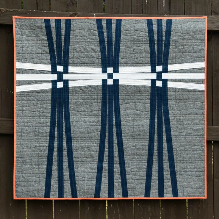 Today I would like to show my APQ Nine-Patch Challenge Quilt I have named Warp and Weft and take you through its design and production proce...