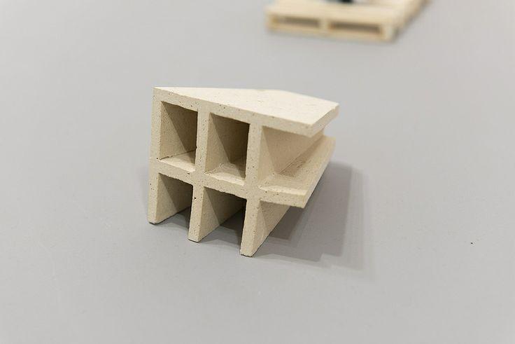Fabio J. Fernandez, Hartmutian Structure, ceramic, 2011