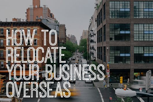 How to Relocate Your Business Overseas by Diana Scully for Creative Women's Circle