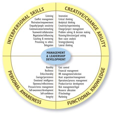 Management & Leadership Development Diagram #leadership #leadershipdevelopment #diagram #management