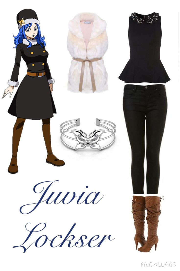 Fairy Tail Inspired Outfits ♡ Juvia Lockser