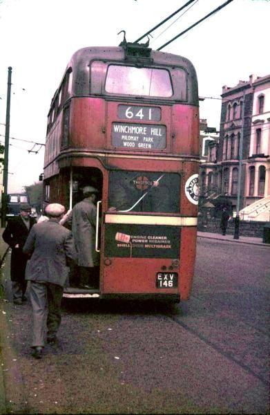 Trolley Bus at Manor House