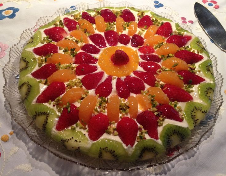Crostata di  frutta fresca  Morbida,gustosa e primaverile!
