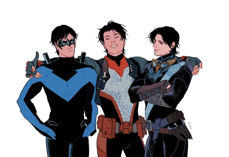Three grayson come from different alternate universe.