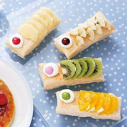 食べやすい1口サイズ♡こどもの日に作るこいのぼりパイケーキのアイデア♡