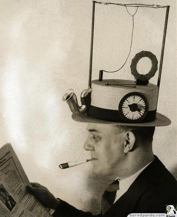 Invention Canotier Radio