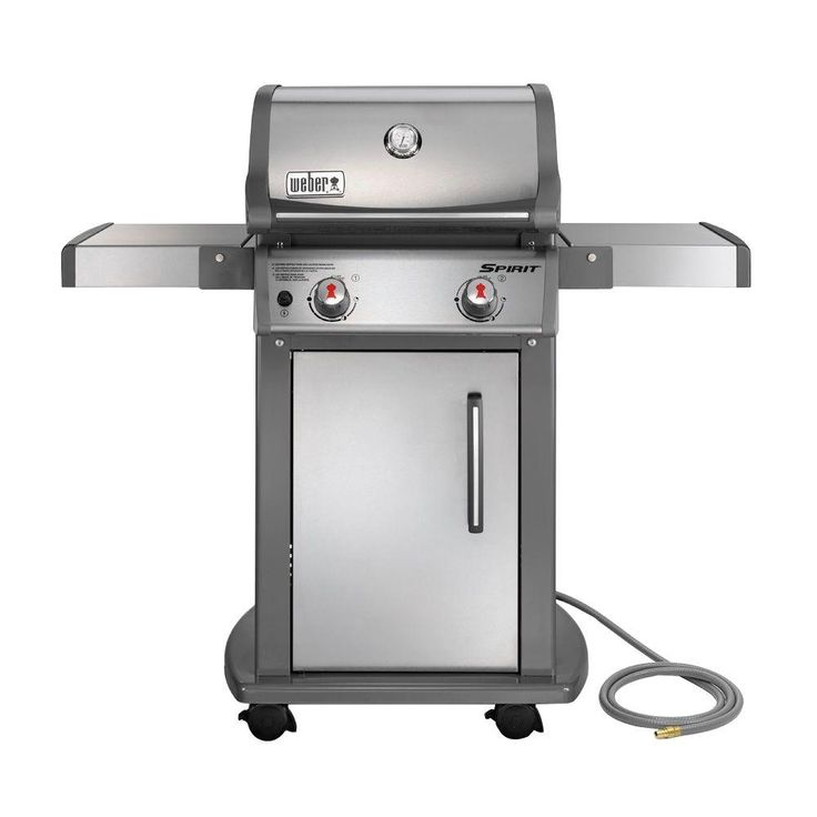 weber spirit s 210 2 burner natural gas grill in stainless steel natural gas grills steel and. Black Bedroom Furniture Sets. Home Design Ideas