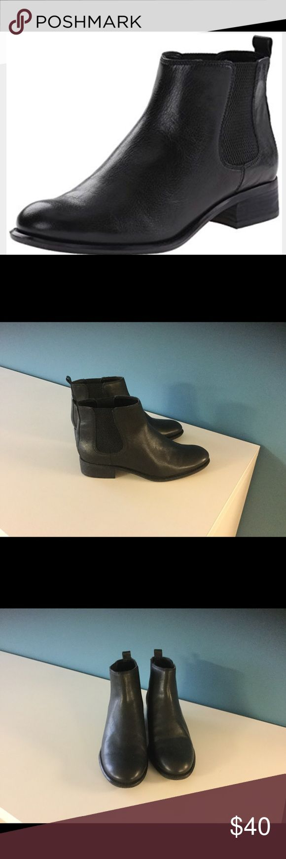 Nine West women's leather ankle boot. NWOT Nine West women's leather ankle boot. NWOT   No box,  purchased and realized it was a duplicate pair,   No trade or low balling. Price firm Nine West Shoes Ankle Boots & Booties
