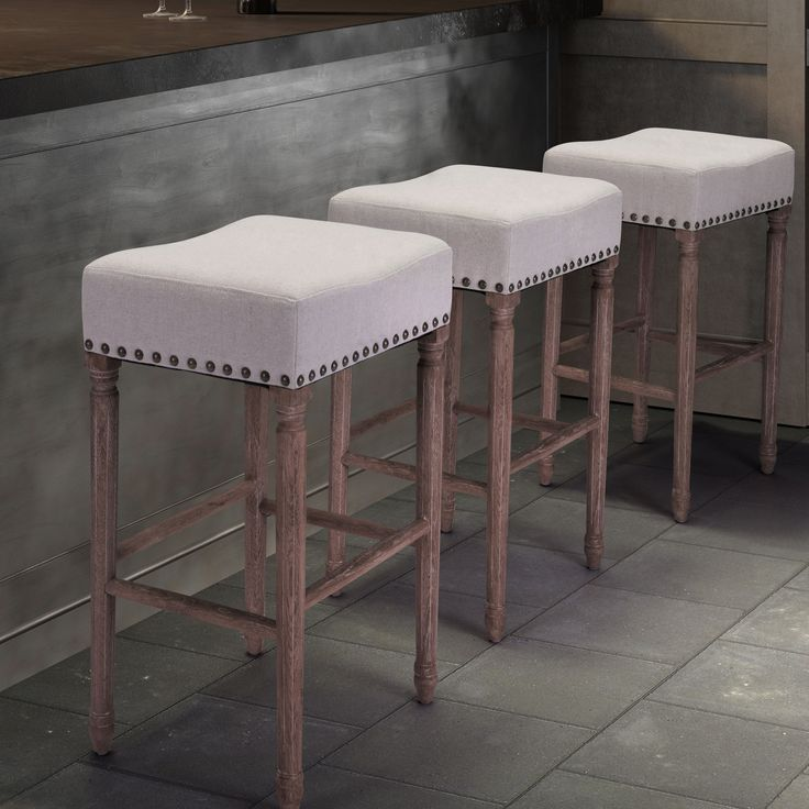 Zuo Anaheim Backless Bar Stool | from hayneedle.com