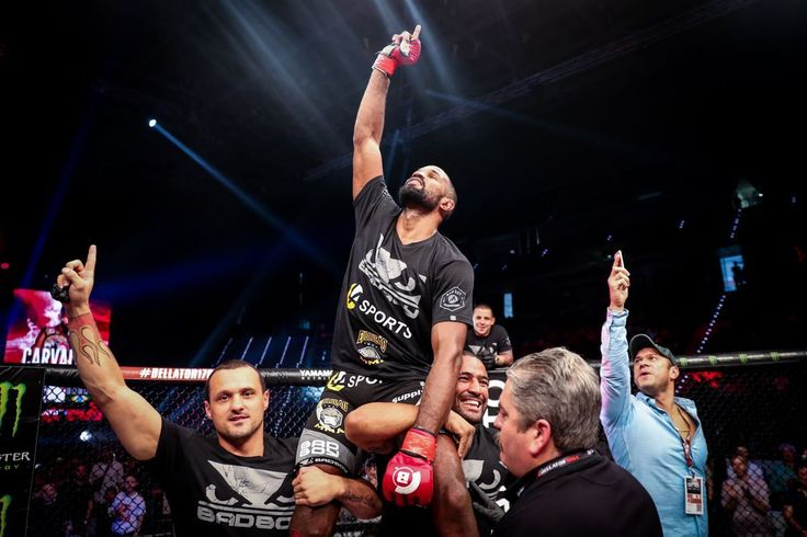 "#ICYMI Rafael Carvalho @rafaelcarvalhodesouza on THAT fight-ending #headkick to Melvin Manhoef @melvinnomercymanhoef : "" I knew that there needed to be an undisputed winner with a finish and Im very glad that I was the one who came away with the victory."" #Bellator #MMA #mixedmartialarts #MLMMA #BellatorMMA #ManhoefvsCarvalho2 #CarvalhovsManhoef2#RafaelCarvalho #MelvinManhoef  #bellator176 #combatsports  #boxing  #kickboxing #BJJ #wrestling #martialarts  #mustlovemma #SusanCingari…"