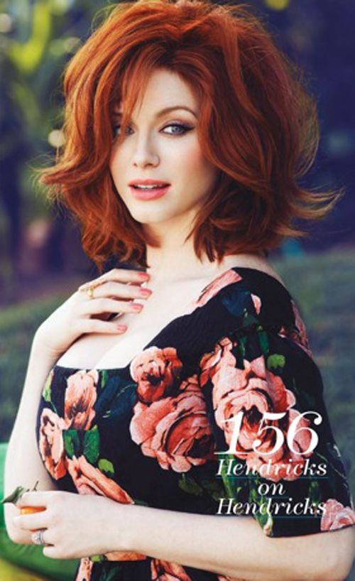 Christina Hendricks by Max Abadian