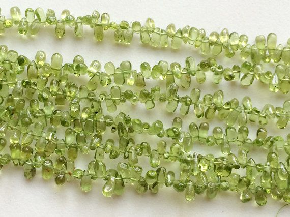 WHOLESALE 5 Strands Peridot Beads Natural Peridot by gemsforjewels