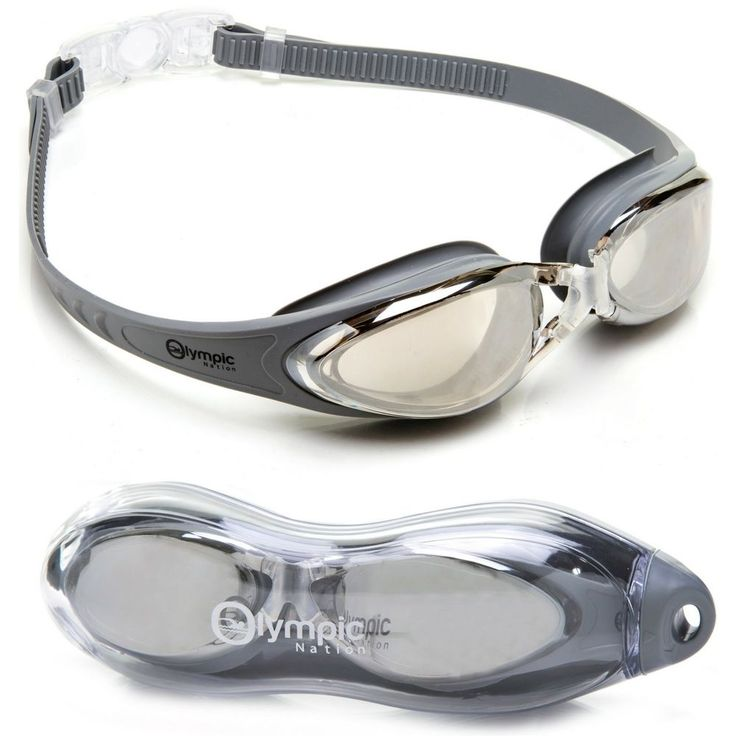 Olympic Nation Pro Swim Goggles Silver Children Men Women Kids High Quality Gift #Olympic #Custom