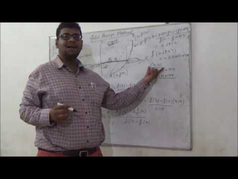 Helping Students in Maths and  Creating Better Tomorrow  : # False Postion Method