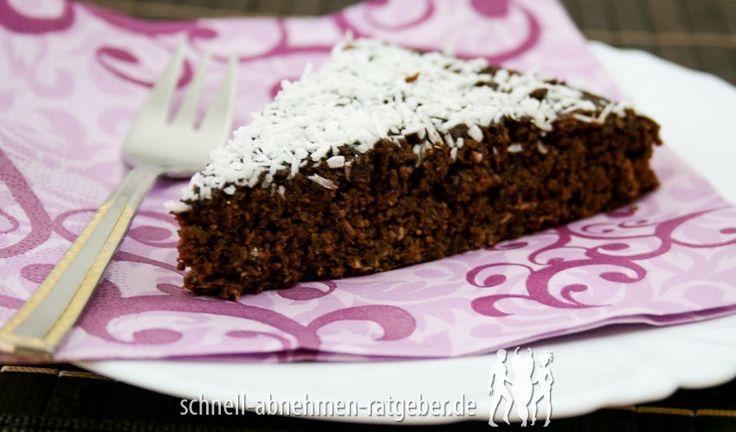 Schoko-Kokos-Kuchen Low Carb