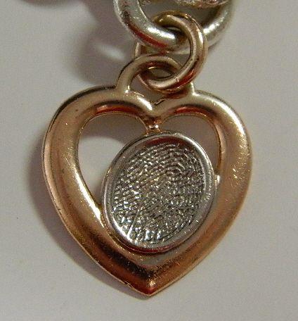 Heart Charm - 14 k gold