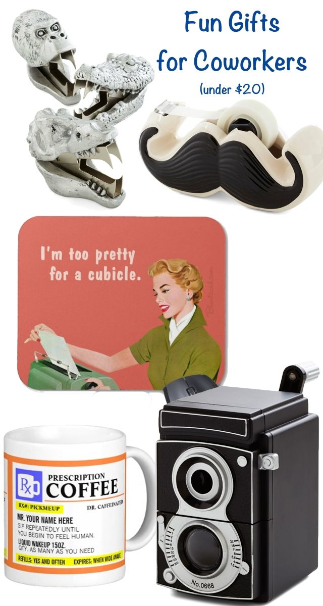 Fun Gifts for Coworkers: Under $20