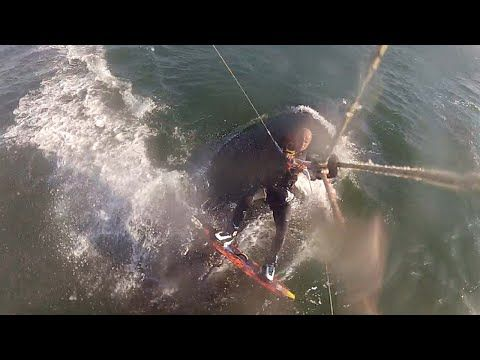 KiteBoarding over Humpback Whale | God Save the Wind | Windsurfing in Love