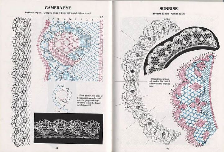 Cook, B. - Introduction to bobbins laces patterns tonder mb - lini diaz - Веб-альбомы Picasa