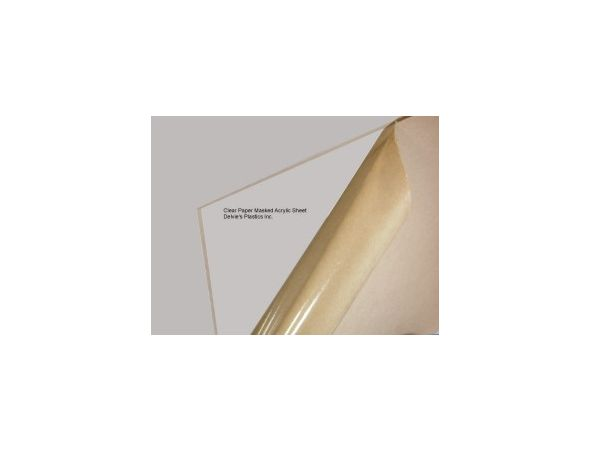 """1/4"""" Crystal Clear Cell Cast Plexiglass Sheet  Cut to size"""