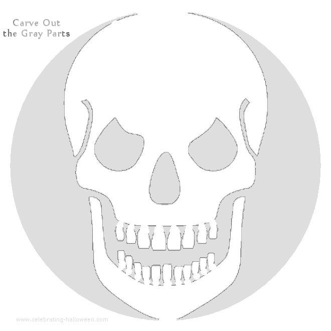Best 25 printable pumpkin stencils ideas on pinterest for Free skull pumpkin carving patterns