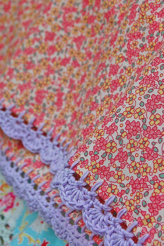 Crochet pillowcases