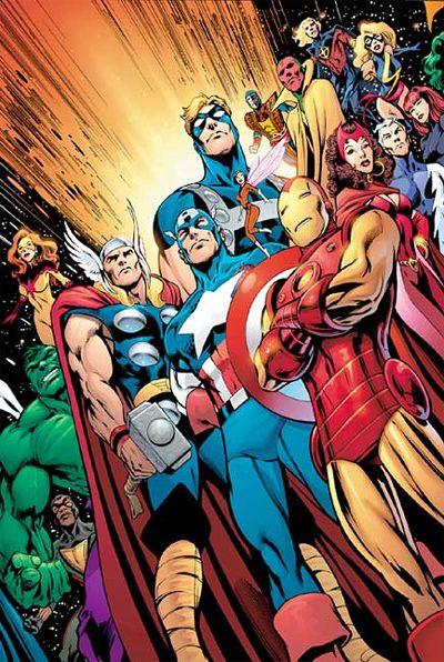 the marvel avengers!!