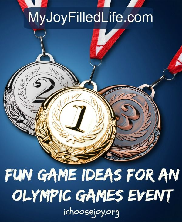 Fun Game Ideas for an Olympic Games Event