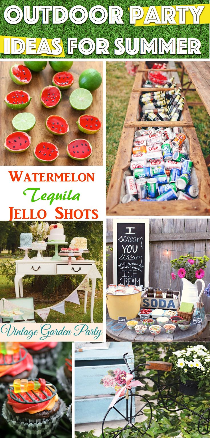 25 Outdoor Party Ideas for Summer You need For Creating Unforgettable Celebrations!