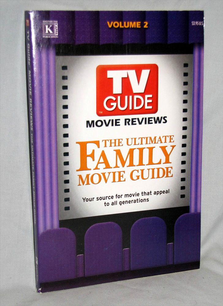 Vintage TV Guide Movie Reviews The Ultimate Family Movie Guide Volume 2 NEW